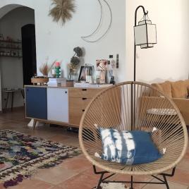 Coussin dehoussable Indigo tons foncés 35x45 cm Collab' Annabel Kern x Atelier Simone (copie)