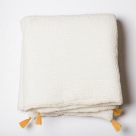 Petit edredon 65x125 cm moutarde