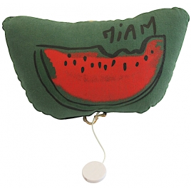 Musical cushion watermelon - chlorophylle