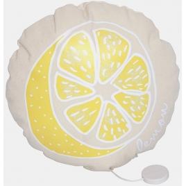 Coussin musical lemon