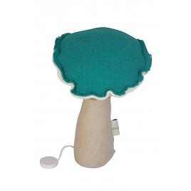 Musical mushroom-aqua