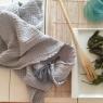 Large towel Boho - Brume