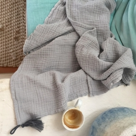 Large towel Boho - Brume