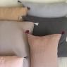 Housse d'oreiller Boho 60x60cm (coussin non fourni) Chanvre