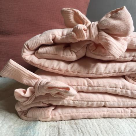 Bed bumper 40x180 cm  Poudre