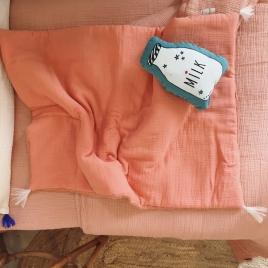 Matelas a langer, mini couverture bebe goyave
