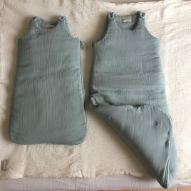 Sleeping Bag Nomade Hand Dyed Jade - Size S or M/L
