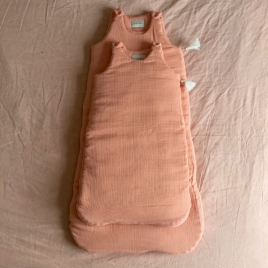Sleeping Bag Nomade Hand Dyed Goyave - Size S or M/L