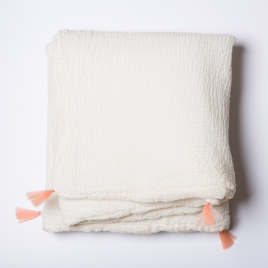 Petit edredon 65x125 cm abricot