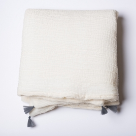 Petit edredon 65x125 cm ardoise