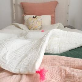 Petit edredon 65x125 cm pink neon