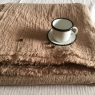 Table Cloth Boho 145x250 cm Moka