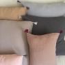 Pillow case BOHO 60x60 cm (no interior cushion) Moka