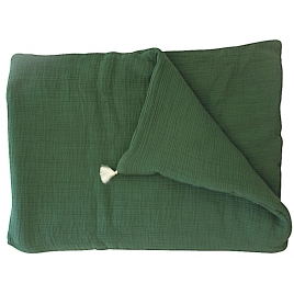 Small blanket for bench or baby bed - chlorophylle
