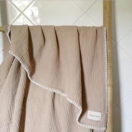 Maxi lange Craie 100x140 cm  moka