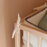 Bed bumper Craie naturel
