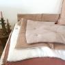 Quilted plaid Craie 140x100 cm