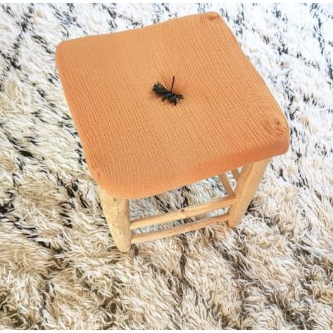Carre de chaise ambre