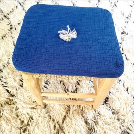 Square cushion-majorelle