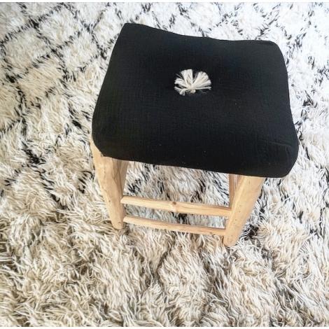 Square cushion-santorin