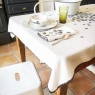 Tablecltoth Craie 140x250cm - Hortensia My little print fabrics