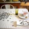 Set of 6 napkins Craie - Hortensia My little print fabrics