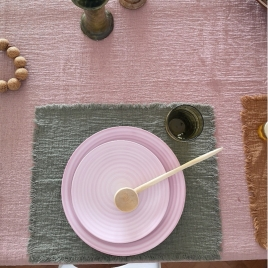 Set de table Boho Sauge