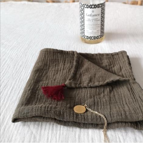 Mini Swaddle Nomade Hand Dyed Lichen