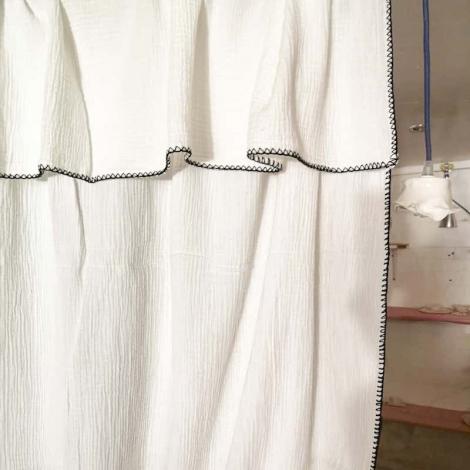 Curtain Craie naturel 140x270 cm