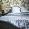 Bedspread cotton gauze Celadon