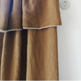 Curtain Craie noisette 140x270 cm