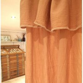 Curtain Craie poudre 140x270