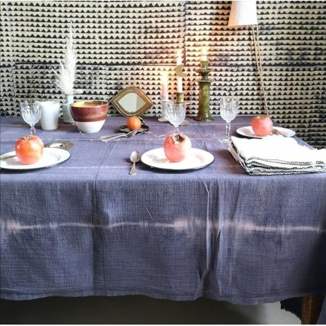 Table Cloth Boho 145x250 cm Dune