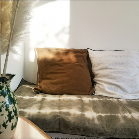 Sofa cover Boho - Moka