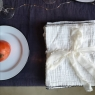 Set of 6 napkins Craie milk