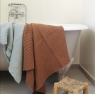 Bath towel Honey gingembre 100x140