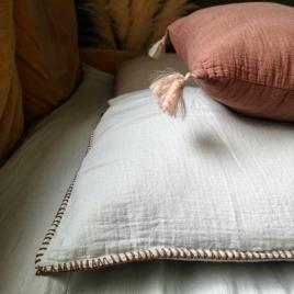 Pillow case Craie glace givrée