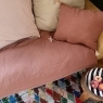 Removable sofa cover Craie terre cuite (padding included)