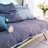Removable sofa cover Craie charbon (padding included)