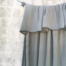 Curtain Craie écume 140x270 cm