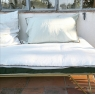 Removable sofa cover Craie milk (padding included)