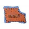 Small squaeker cushion petit biscuit  - majorelle