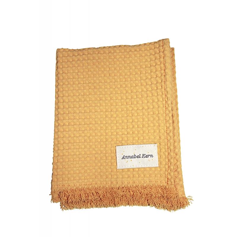 serviette de toilette nid d 39 abeille yuzu 3 tailles annabel kern. Black Bedroom Furniture Sets. Home Design Ideas